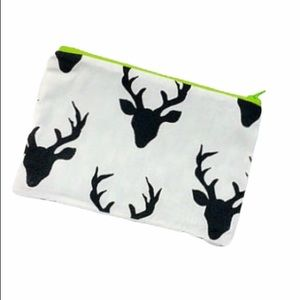 🍍Women's deer zipper pouch makeup case coin purse